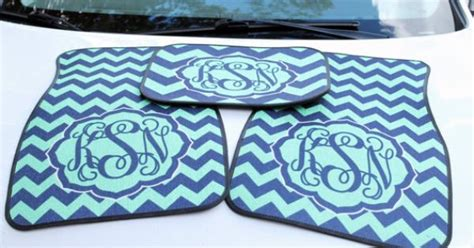 floor mats etsy personalized car mats monogrammed car accessories custom printed floor mats design your