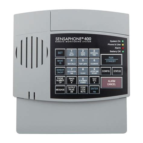 sensaphone  series  channel remote monitoring system