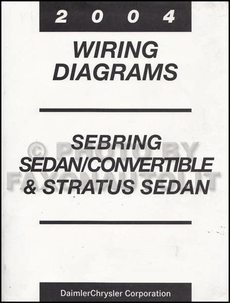 Mopar Stratus Sebring Sedan Covertible Wiring Diagram