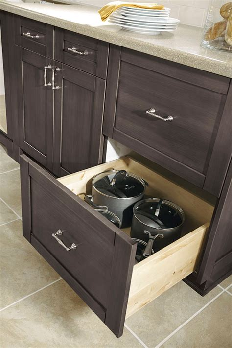 sliding drawers for kitchen cabinets two drawer base cabinet kitchen craft cabinetry 7983