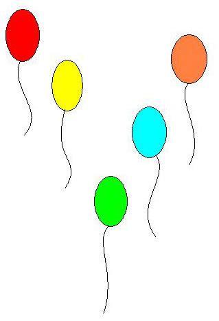 palloncini clipart in primo piano comune di san lorenzo maggiore