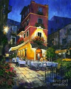 Italian Nights Painting by Michael Swanson