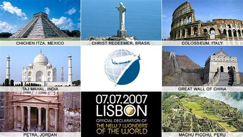 the top 9 wonders of the modern world marzo 2011
