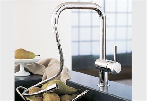 robinet de cuisine grohe robinet évier grohe minta u ile de chadapaux