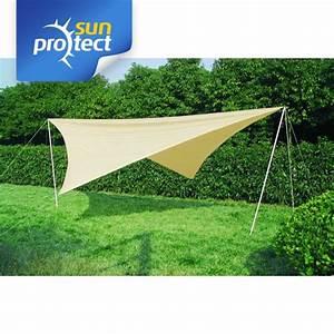 Sonnensegel Mit Stangen : sonnensegel komplett set 4x4m quadrat polyester ~ Frokenaadalensverden.com Haus und Dekorationen