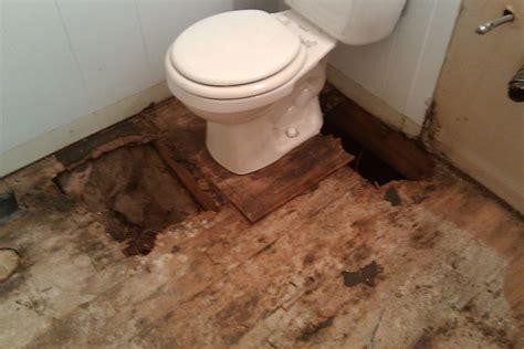 Not so much the case. Hall Bath SubFloor Water Damage 1.jpg in 2020 | Bathroom ...