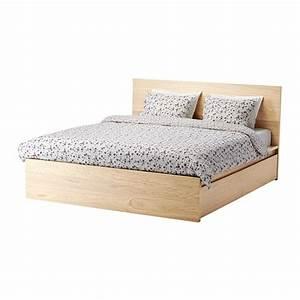 Lit Ikea 140x200 : malm cadre lit haut 4rgt 180x200 cm lur y ikea ~ Teatrodelosmanantiales.com Idées de Décoration