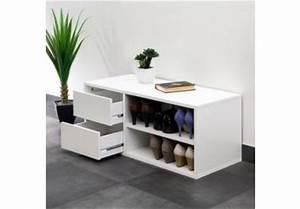 banc d39entree acheter bancs d39entree en ligne sur livingo With porte d entrée pvc avec meuble 80 cm salle de bain
