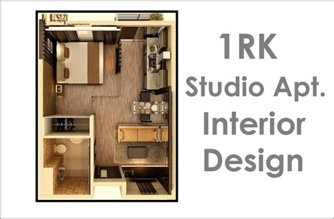 1 Rk Home Design : 1rk Studio Apartment