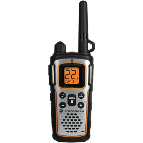 motorola mu354r bluetooth ready two way radio walkie talkie 35 mile frs gmrs ebay