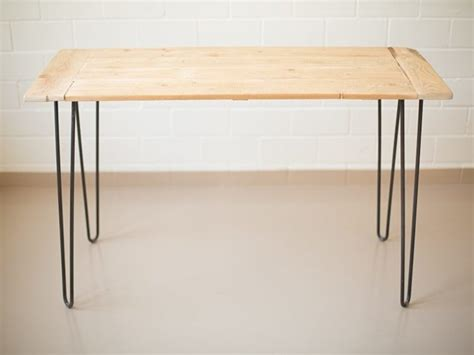 Tisch Aus Holzdielen by Tisch Aus Alten Dielen Und Hairpin Legs Bauen
