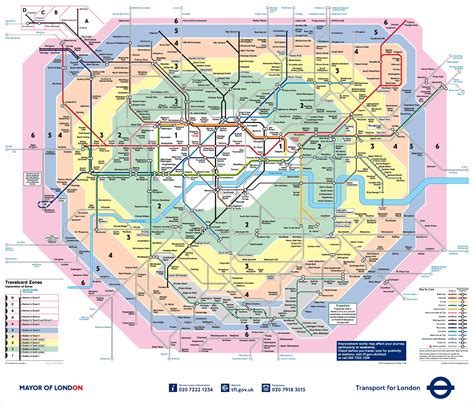 Lade london karte und genieße die app auf deinem iphone, ipad und ipod touch. London-zone-map - London anzeigen Zonen (England)