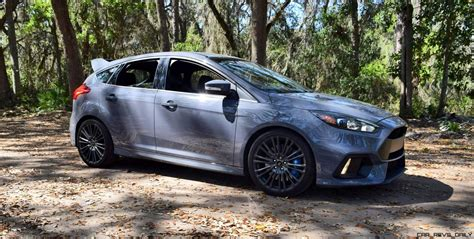 2017 Ford Focus Rs Stealth Grey 26