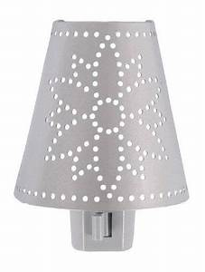 Ge 51386 Metal Shade With Flower Design Incandescent Night
