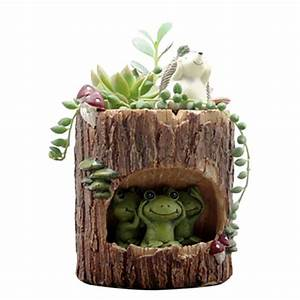 Mini Succulent Planter Flower Bonsai Pot Plant Garden