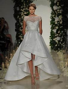 get whitney port39s high low wedding dress look With wedding dresses high low