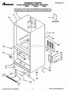 Wiring Diagram  34 Amana Refrigerator Parts Diagram