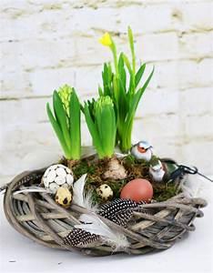 Frühlingsdeko Selber Basteln : fr hlingsdeko basteln fr hlingskranz a matter of taste ~ Markanthonyermac.com Haus und Dekorationen