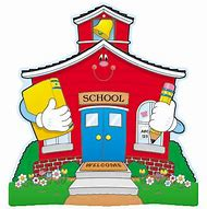Image result for cartoon schoolhouse