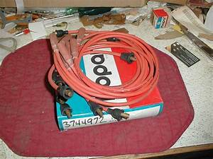 Nos Mopar Spark Plug Wires 1965 Thru 1973 Small Block 8