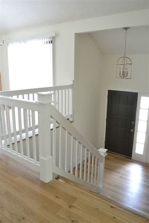 banister railing 25 best ideas about painted stair railings on