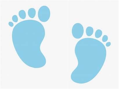 Feet Boy Clipart Foot Footprint Pastel Transparent