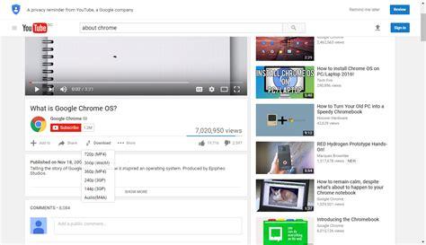 youtube downloader  chrome