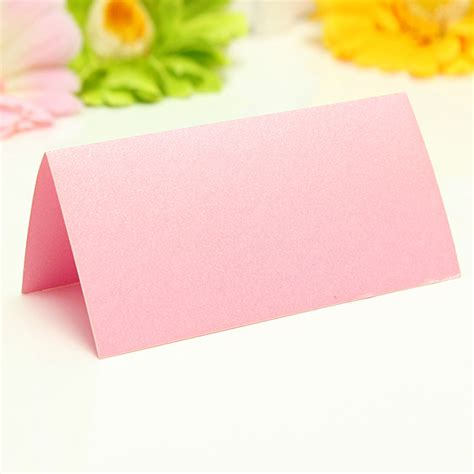 50x simple blank wedding party table place cards guest name cards placecards diy ebay