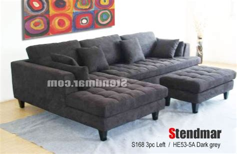 3 discount gray microfiber sectional sofa set with product reviews buy 3pc design gray microfiber
