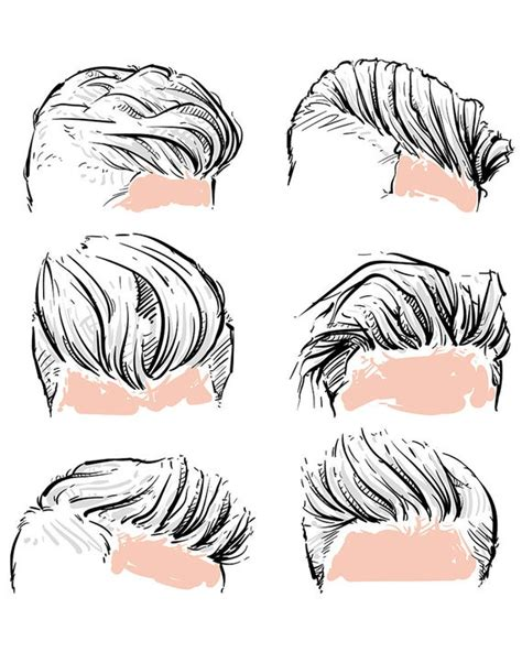 sale vector fashion set  hipster man hair style