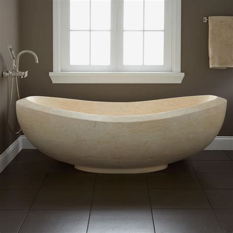 marble tubs 72 quot lucius polished moon white marble tub tubs