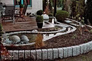 Gartengestaltung Mit Naturstein Mauern Wasserläufe Und Terrassen : gartengestaltung nat rlich sthetisches gartendesign ~ Eleganceandgraceweddings.com Haus und Dekorationen