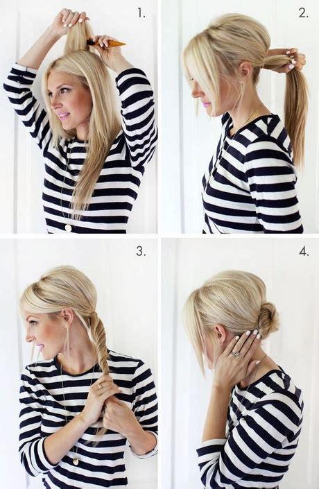 leichte hochsteckfrisur schulterlange haare
