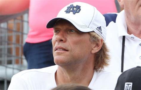 Jon Bon Jovi Son Jesse Bongiovi Plays For The Notre Dame