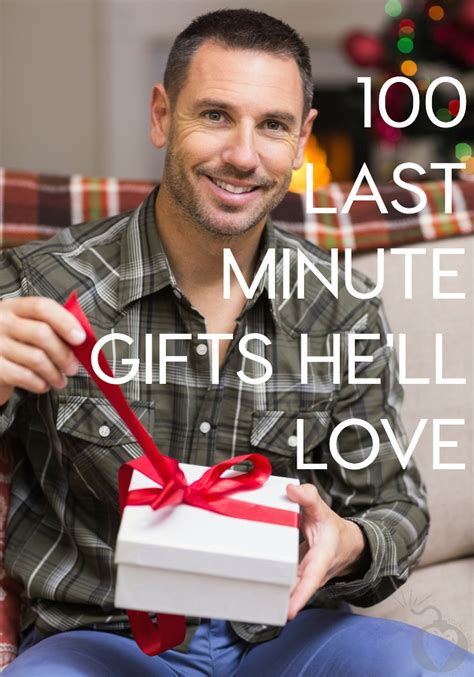 100 last minute christmas gifts for men