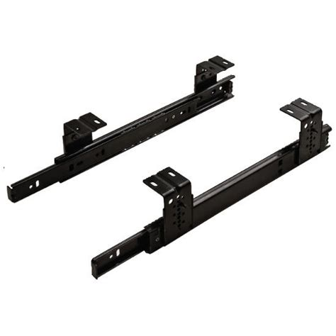bottom mount drawer slides accuride 3 4 extension side bottom mount drawer slide with