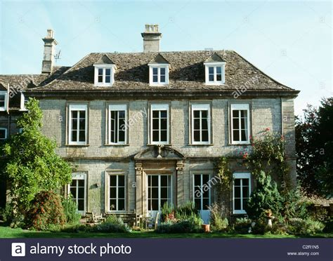 18th century houses early 18th century house with dormer windows uley