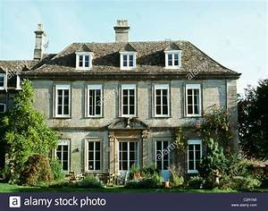 Early 18th century village house with dormer windows Uley ...