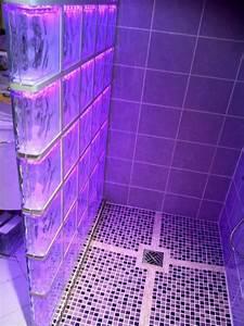 brique de verre salle de bain pinterest briques With bloc verre salle de bain