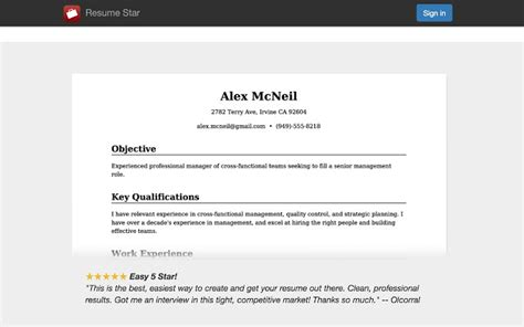 To Create A Pdf Resume by Resume Chrome Web Store