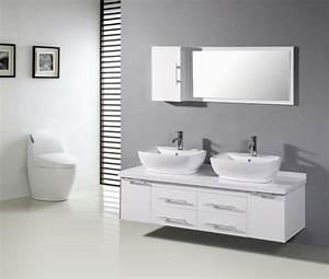 Badezimmer Waschtisch Mit Unterschrank : doppel aufsatzwaschbecken mit unterschrank ~ Bigdaddyawards.com Haus und Dekorationen