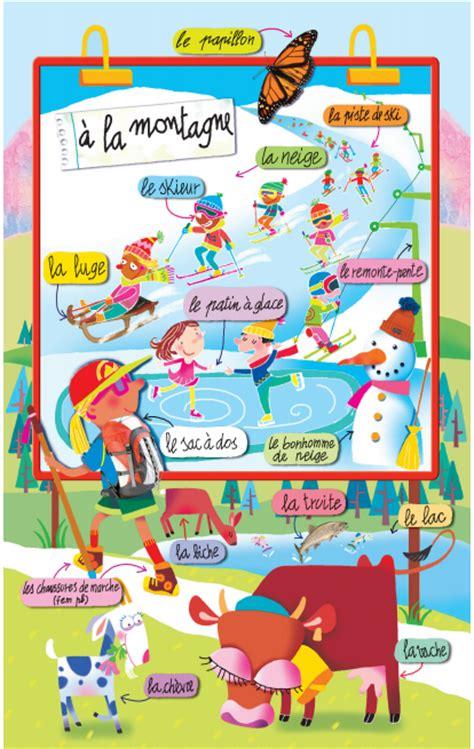 Carte De Montagne Ce1 by En Montagne Les Montagnes Il Sera Et Fle