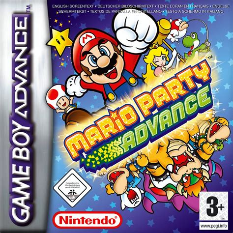 Mario Party Advance Box Shot For Game Boy Advance Gamefaqs