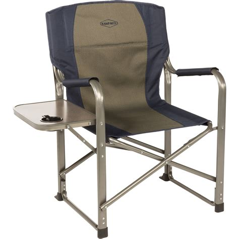 Folding Directors Chair With Side Table k rite folding director s chair with side table cc105 b h