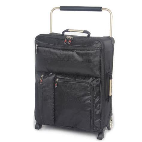 It Luggage World's Lightest 55cm Max Cabin Suitcase Black
