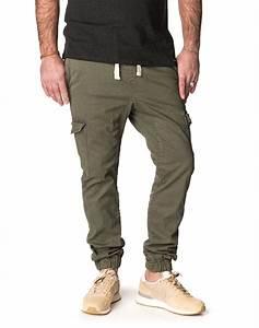 Pantalon Décontracté Homme : pantalon homme vert dening cargo cedar v tements homme pullin ~ Carolinahurricanesstore.com Idées de Décoration