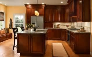 cabinet kitchen ideas kitchen design ideas cherry cabinets images