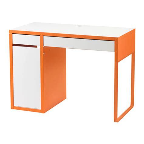 micke bureau blanc micke bureau blanc orange ikea