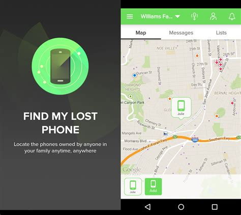 track my android 5 brilliant apps to locate a misplaced android phone