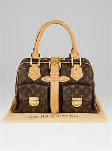 louis vuitton monogram canvas manhattan gm bag yoogis